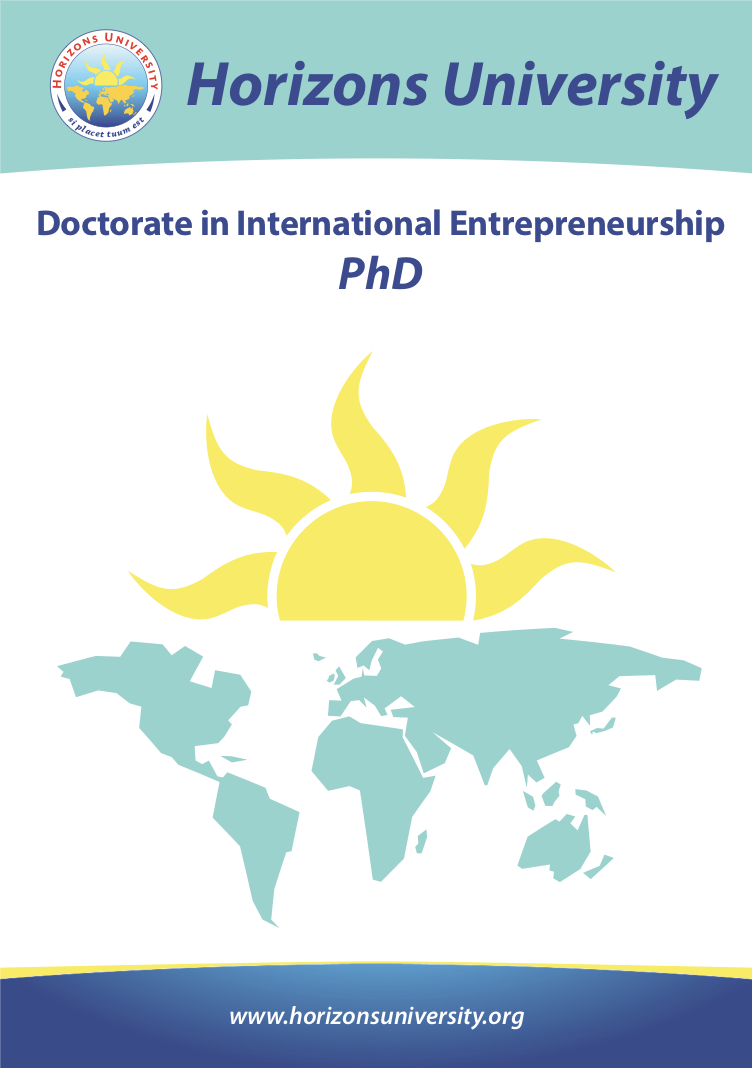 Doctorate in International Entrepreneurship PhD